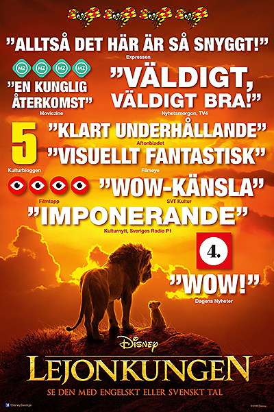 Lejonkungen på Scala Biografen