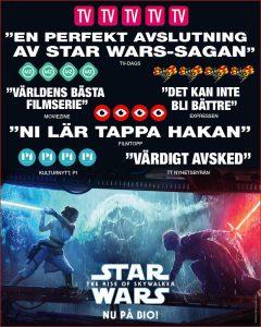 Star Wars: Rise of Skywalker på Scala i Båstad