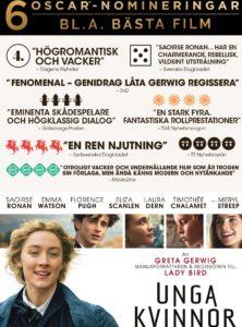 Unga kvinnor på Scala Biografen i Båstad
