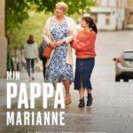 Min pappa Marianne på Scala Biografen i Båstad